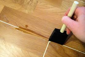 how to patch gaps in laminate floors when you have removed a wall or want to