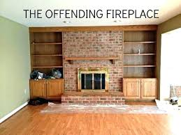 fireplace update ideas update brick fireplace update red brick fireplace updated brick fireplaces marvelous ideas update