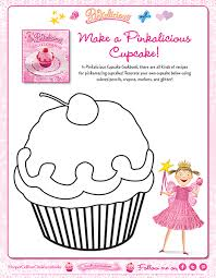 I love cupcakes coloring page. Make A Pinkalicious Cupcake Coloring Page Pinkalicious Activities Printables