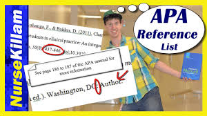 apa reference list basics an easy guide video 4 of 4 apa reference list basics an easy guide video 4 of 4