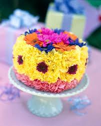 Memorable Birthday Cake Flower Arrangement Flower