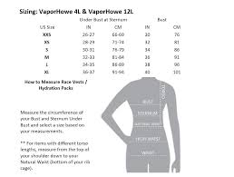 Nathan Size Chart Nathan Vaporhowe 4l Womens Race Vest Hydration Pack Lightweight Running Fusion Coral