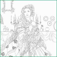 Secret Garden Coloring Pages Unique Beauty And The Beast Colouring