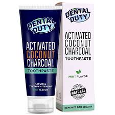 oral care zone activated charcoal teeth whitening toothpaste