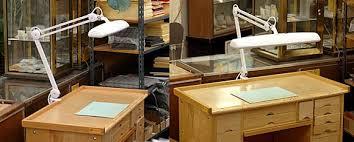 Beautiful Oak Roll Top Jewelers Bench Watchmakers Bench Desk Watchmaker Bench For Sale