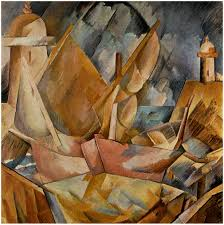 harbor in normandy georges braque wikiart org