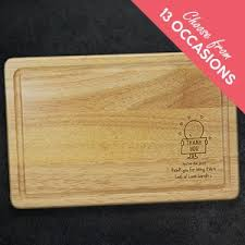 perfect for cheese or choppingpersonalised