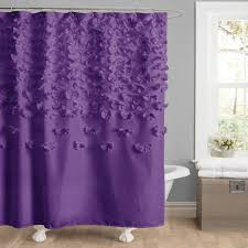 purple and silver shower curtain. Purple And Brown Curtains Lucia Shower Curtain Lush Decor Www Lushdecor Silver