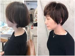 多くて膨らむ髪質はどうしたらショートヘアにできるのか ショートヘア
