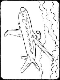 Vliegtuig Kiddicolour