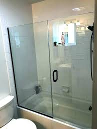 cost to install shower door install shower door install shower door bathtub glass door install installing