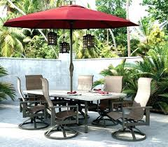 outdoor dining sets with umbrella. Outdoor Dining Furniture With Umbrella Patio Sets Umbrellas Essentials Table