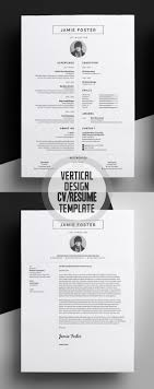 Attractive Graphic Design Resume Templates Free Collection