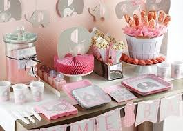 Little Peanut Girl Baby Shower Theme