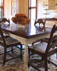 Painted Furniture Dining Room Table Update