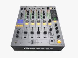 pioneer 850. dj mixer pioneer djm-850 3d model max obj fbx 850 -