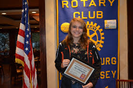 rotary club of branchburg announces essay contest winner a student at branchburg central middle school won the rotary club of branchburg s essay contest for courtesy photo the messenger gazette