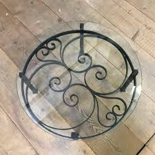 wrought iron round coffee table coffee tables tables european antique warehouse