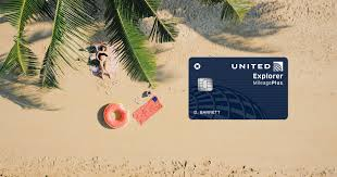 new united explorer card offers 2x miles on hotels and restaurants creditcards
