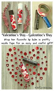 gift idea decorate lip balm containers for valentine s day or galentine s day super easy