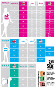 Costume Sizing Chart