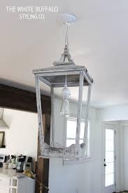 diy lantern light fixture throughout fixtures decor 2