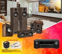 DÀN ÂM THANH XEM PHIM 5.1 DENON AVR X550BT - JAMO S805 HCS - JAMO S808 SUB  - Nhanh Shop Audio