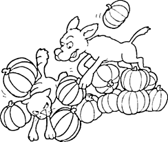 Small Picture Dog Chases Cat Coloring Page Dog Coloring Pages Org