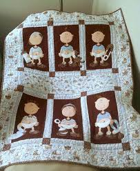 77 best Fun & Whimsical Quilts images on Pinterest | Applique ... & Baby Boy Quilt (from Quilts Sew Shabby) Adamdwight.com