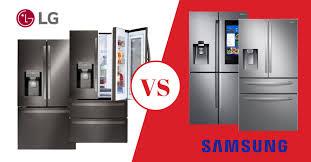 lg vs samsung refrigerators review