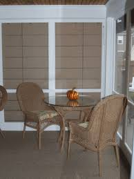 screen porch furniture. allweather wicker table u0026 chairs screen porch shades furniture