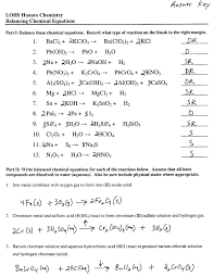 chemistry worksheet balancing equations part 2 answers nuclear photo practice literal