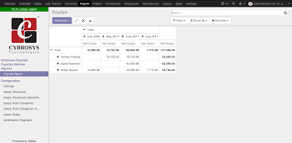 Payroll-Payslip Reporting | Odoo Apps