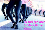 Ballet barre class what to wear