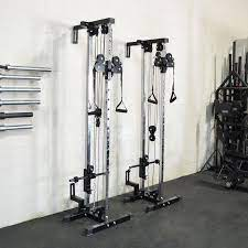 titan fitness wall mounted pulley tower