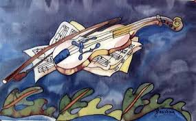 Image result for solo violin paintings