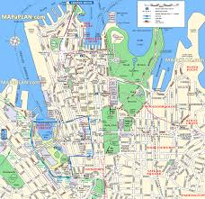 sydney maps  top tourist attractions  free printable city