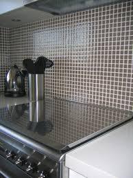glass mosaic kitchen backsplash tile room scene