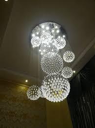 sphere lighting fixture. Crystal Chandelier Rain Drop With 11 Sphere Ceiling Light Fixture Modern Lighting