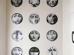 Fornasetti Art Prints Rental Approved Diy Faux Fornasetti Wallpaper Domicile 37