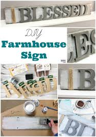 diy farmhouse wood signs make your own farmhouse style signs with these easy diy home