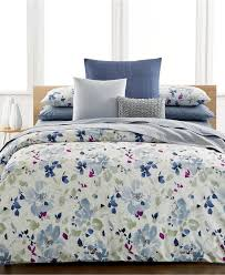calvin klein watercolor peonies bedding collection bedding collections bed bath macy s
