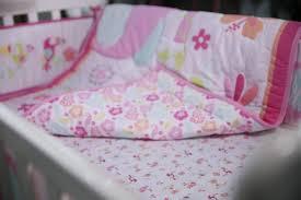 9 pc crib infant room kids baby bedroom set nursery bedding pink elephant