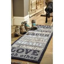 lovely smart washable runner rugs muddle mat super nylon family rules washable runner rug x dddad