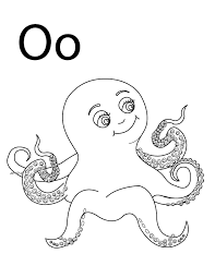 52 free alphabet coloring pages. Coloring Pages Letter O