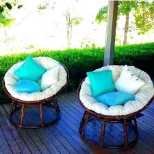 papasan cushion covers removable and washable outdoor chair fabric double co