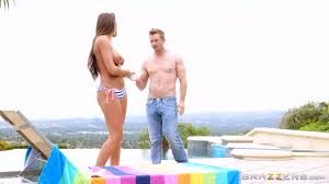 August Ames Bill Bailey Trophy Wife Teases The Pool Boy Real.