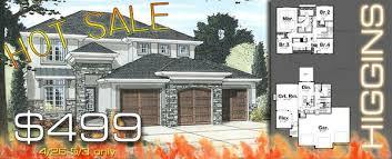 House Plan Hot Sale   Higgins is   for a weekHiggins house plan hot