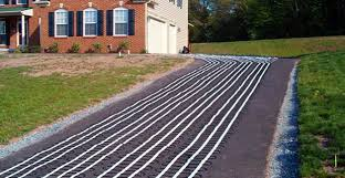 electric heated driveway. Delighful Heated Installing ClearZone Heat Cable For Electric Driveway Snow Melting System And Electric Heated Driveway