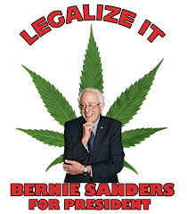 bernie sanders for president. legalize it! bernie sanders for president t-shirt t